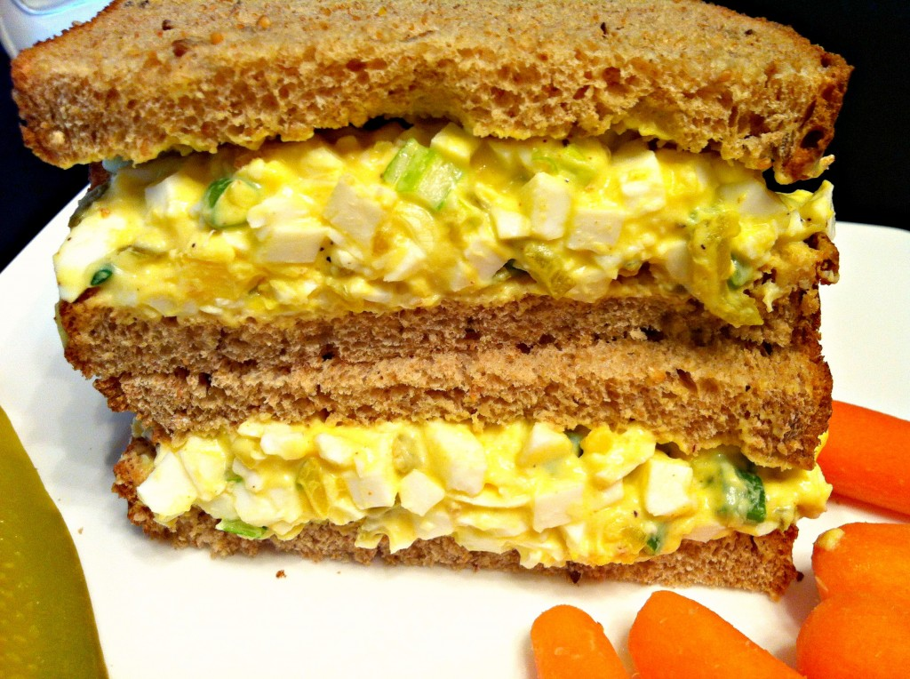 Simple Egg Salad Sandwiches ~ The Complete Savorist