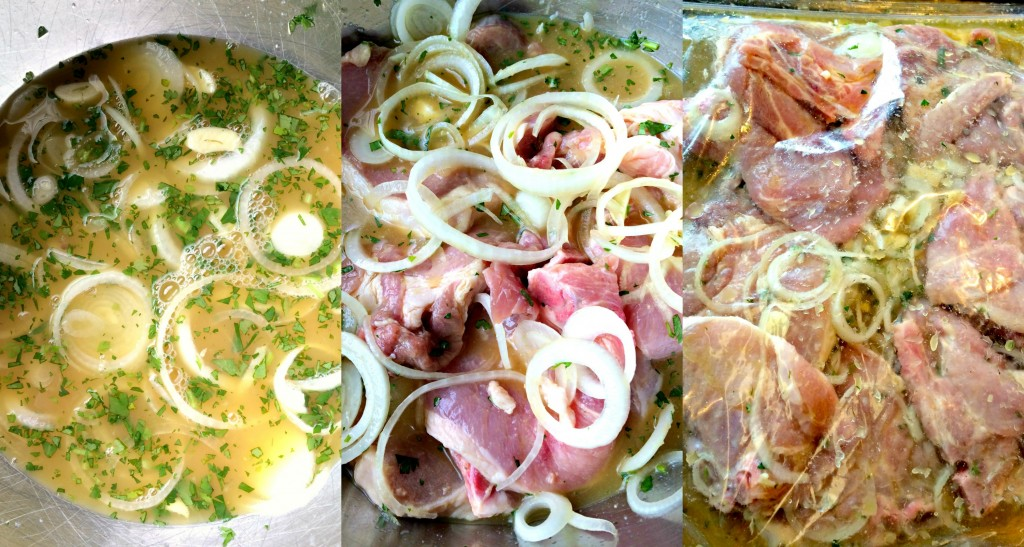 Grilled Cuban Pork Chops ~ Citrus and herb marinated pork chops, then ...