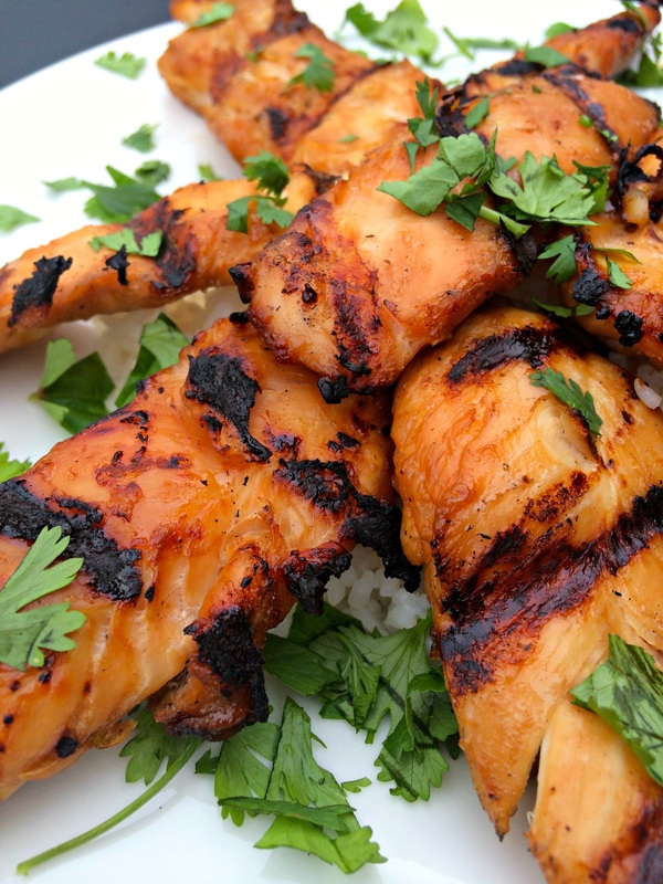 Asian Grilled Chicken - The Complete Savorist