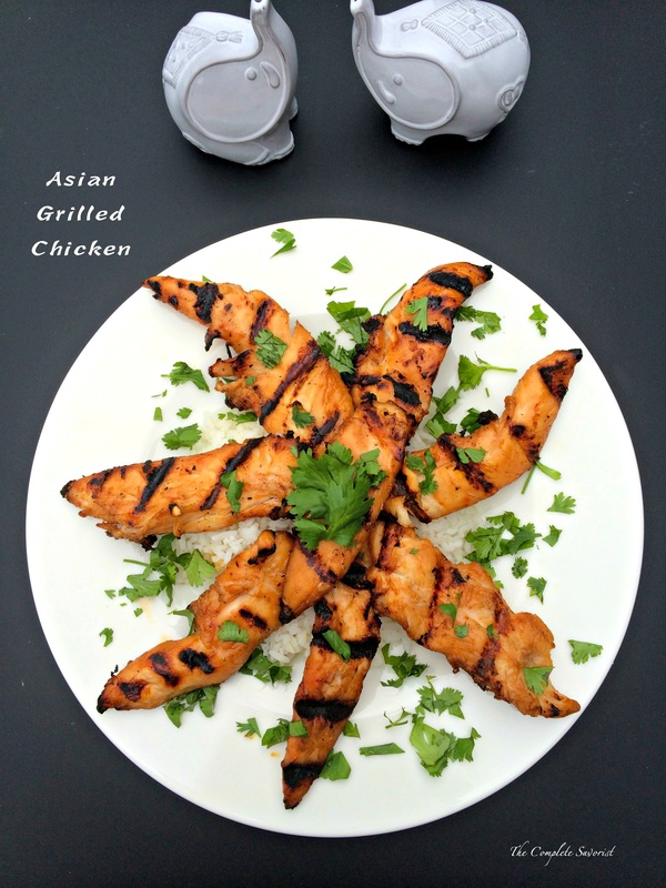 Asian Grilled Chicken ~ The Complete Savorist