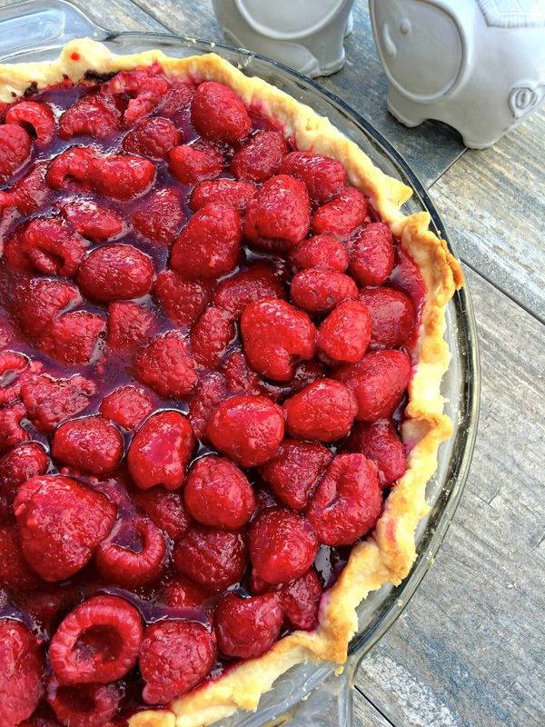 Dark Chocolate Raspberry Pie ~ The Complete Savorist