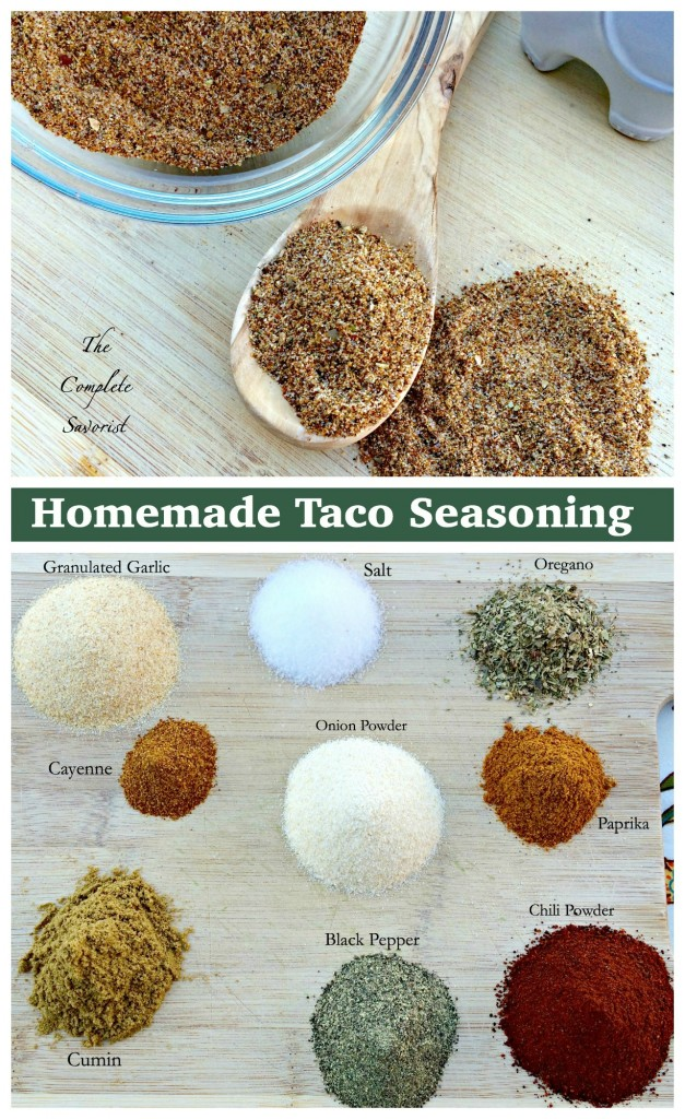 Homemade Taco Seasoning ~ Why buy a pre-made package blend with ...