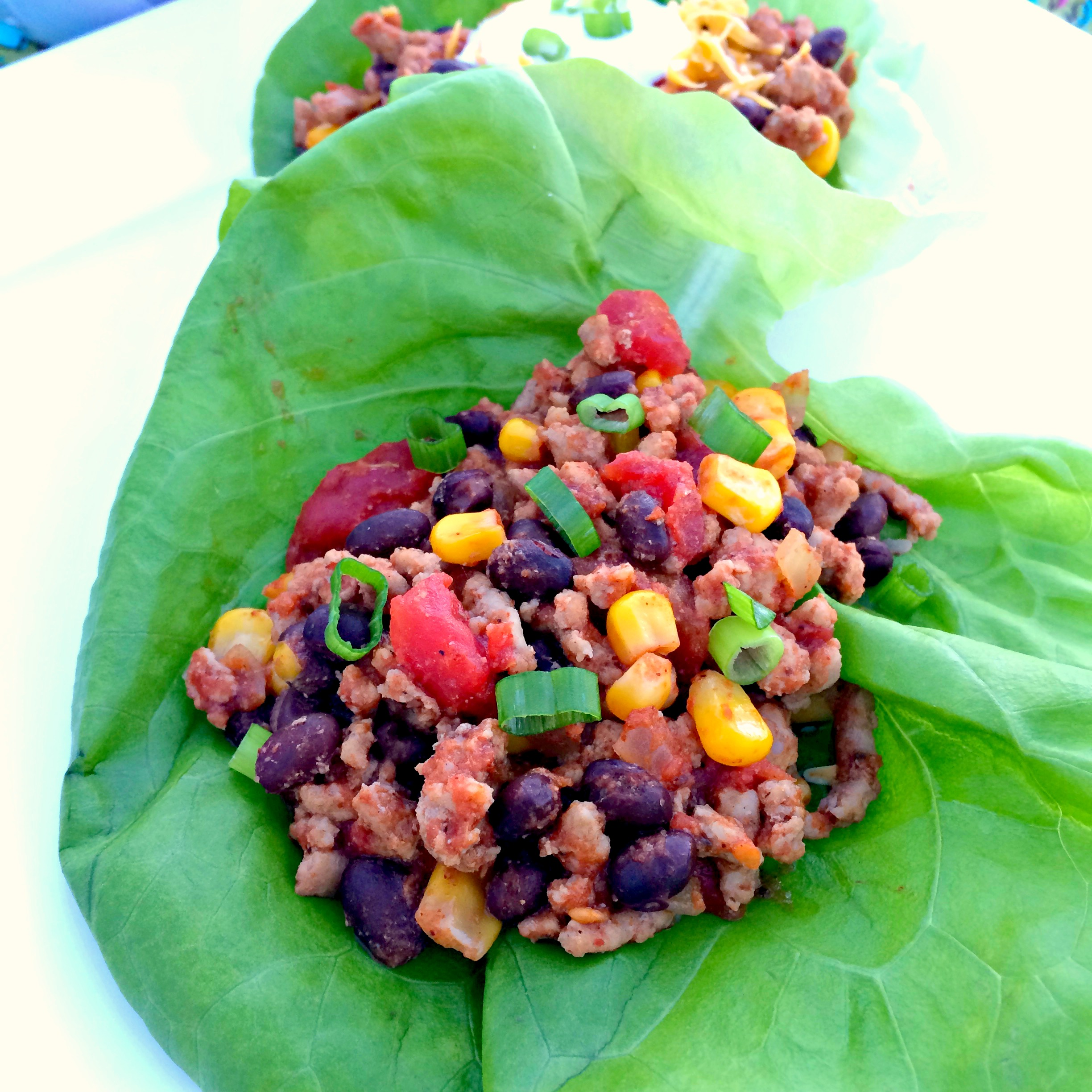 Turkey Taco Lettuce Wraps ~ The Complete Savorist