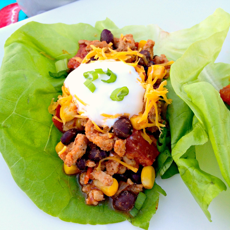 Turkey Taco Lettuce Wraps ~ The Complete Savorist