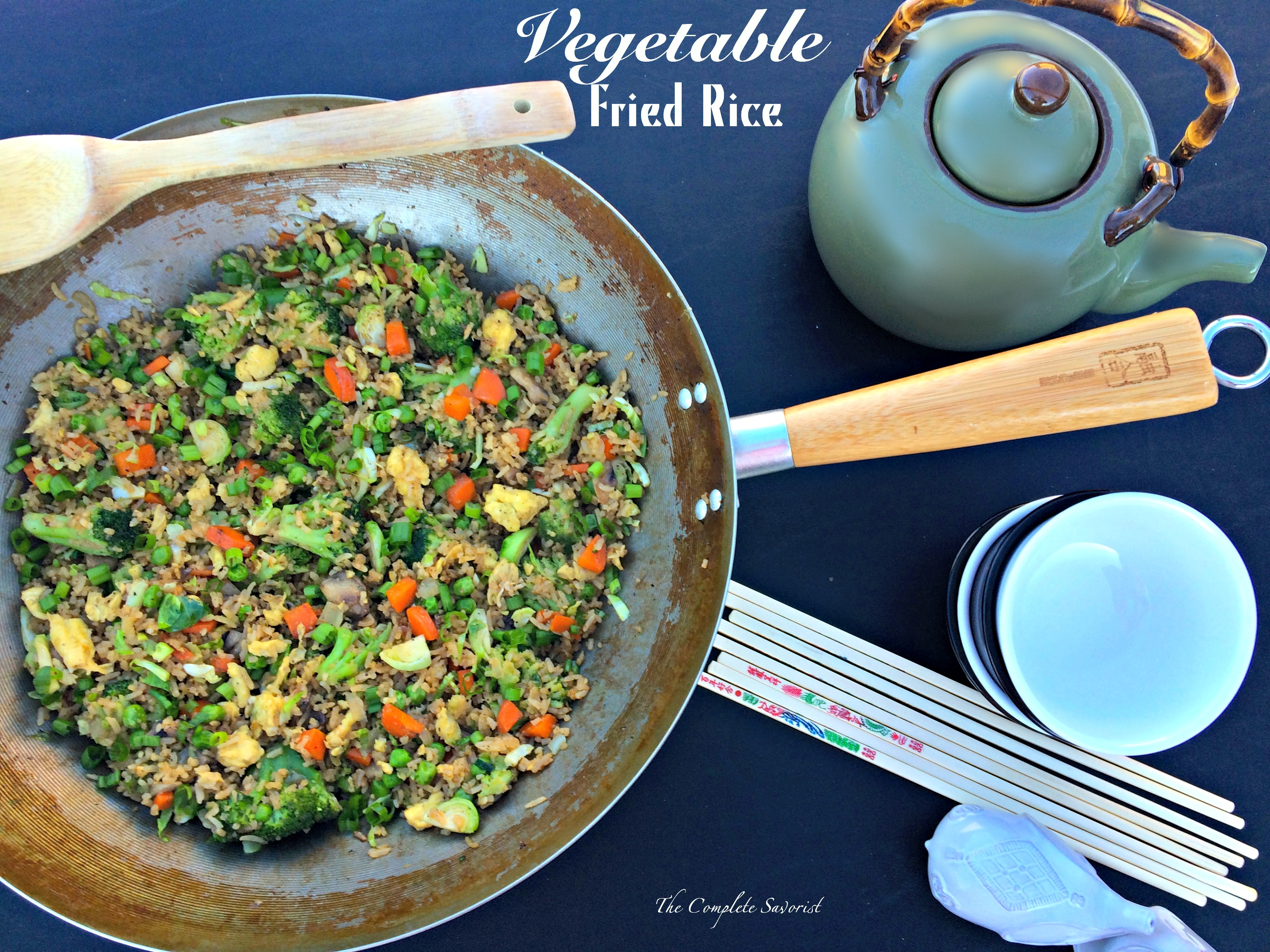 Vegetable Fried Rice ~ The Complete Savorist