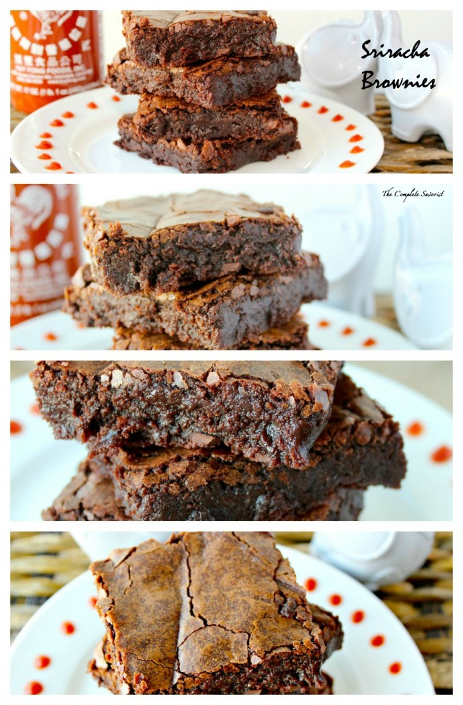 Sriracha Brownies -Stacked ~ The Complete Savorist