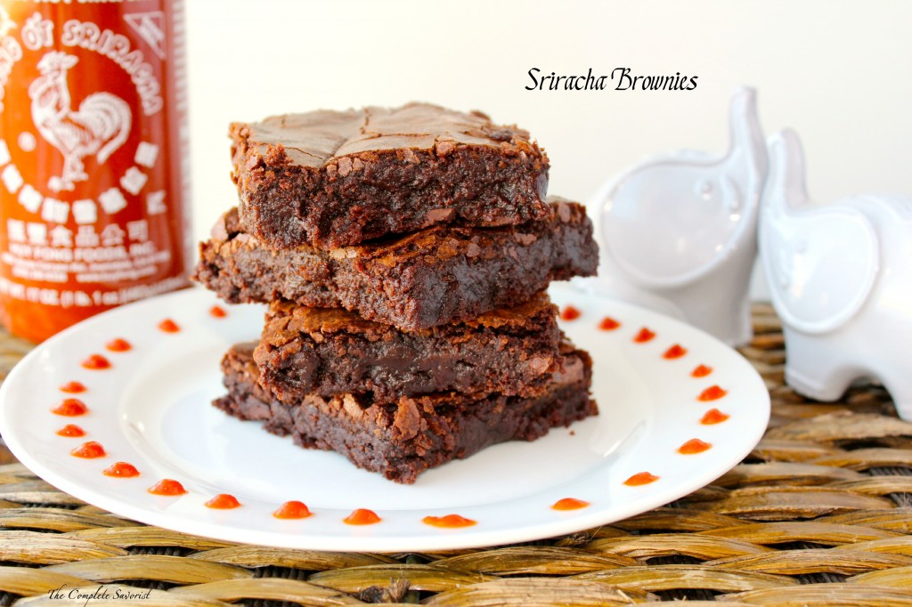 Sriracha Brownies