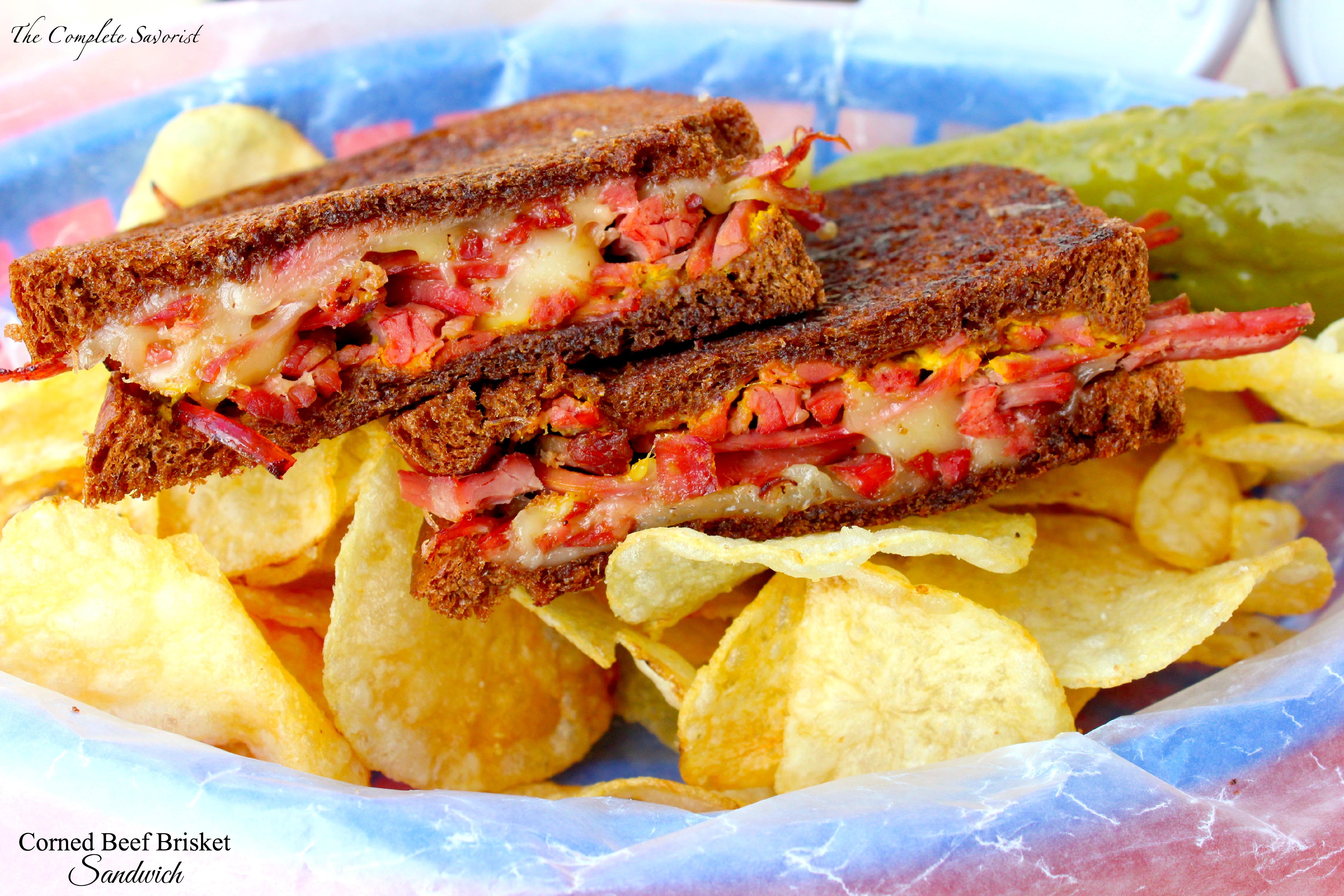 Corned Beef Brisket Sandwich ~ The Complete Savorist