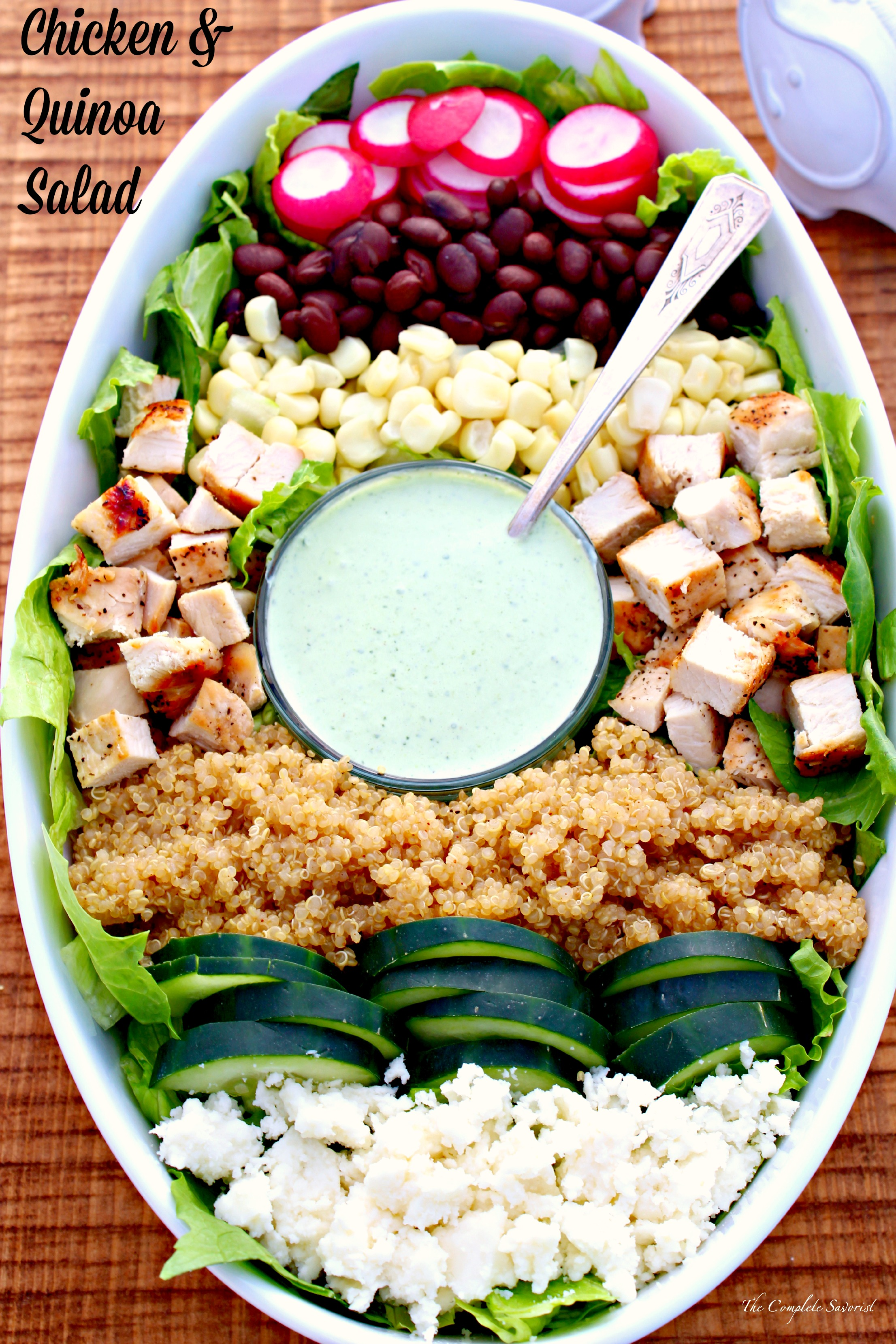 Chicken & Quinoa Salad ~ The Complete Savorist