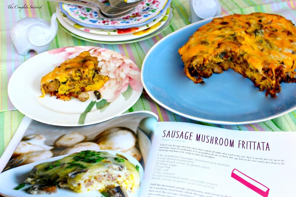 Sausage and Mushroom Frittata ~ The Complete Savorist