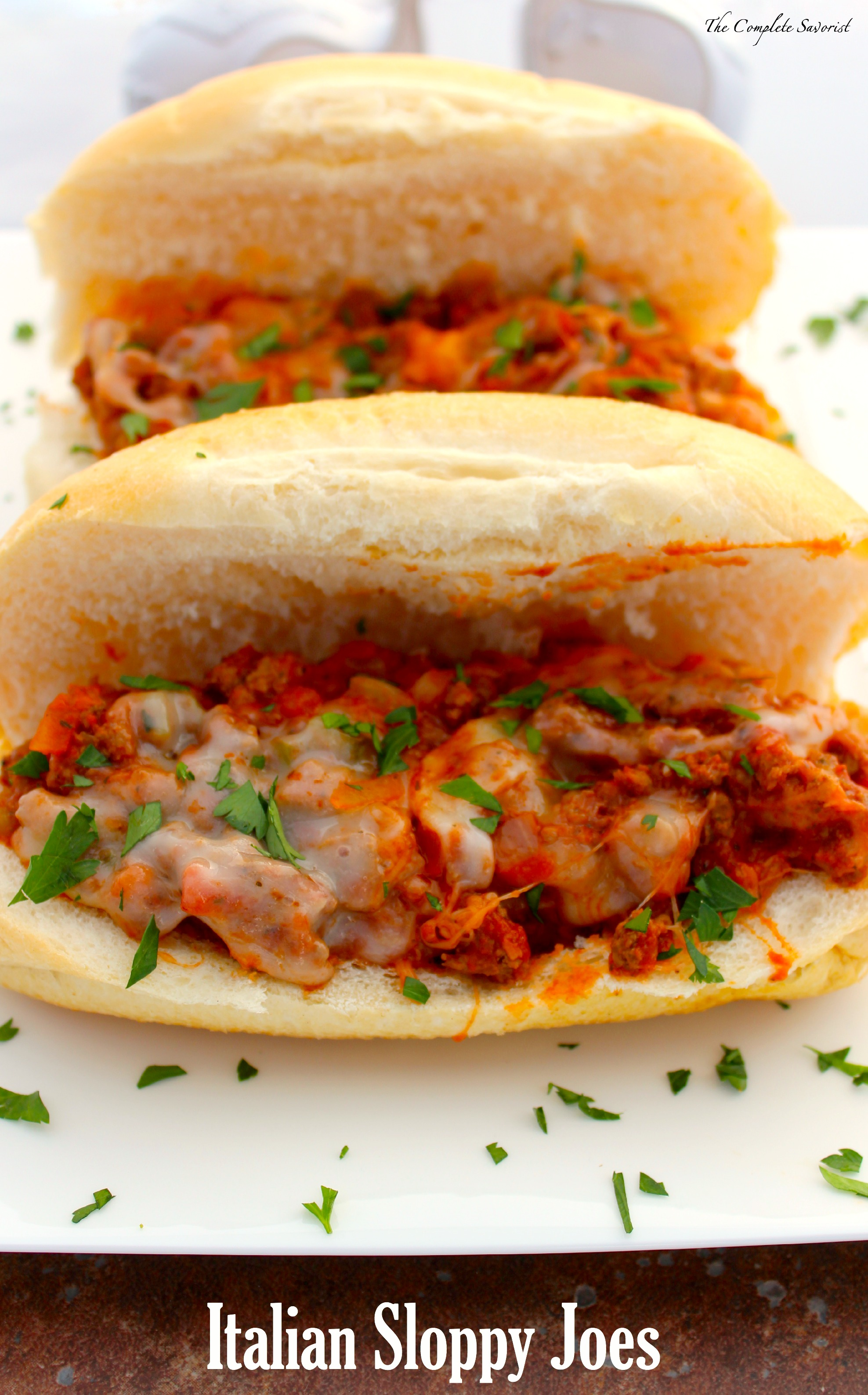 Italian Sloppy Joes ~ The Complete Savorist