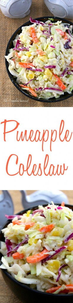 Pineapple Coleslaw ~ The Complete Savorist