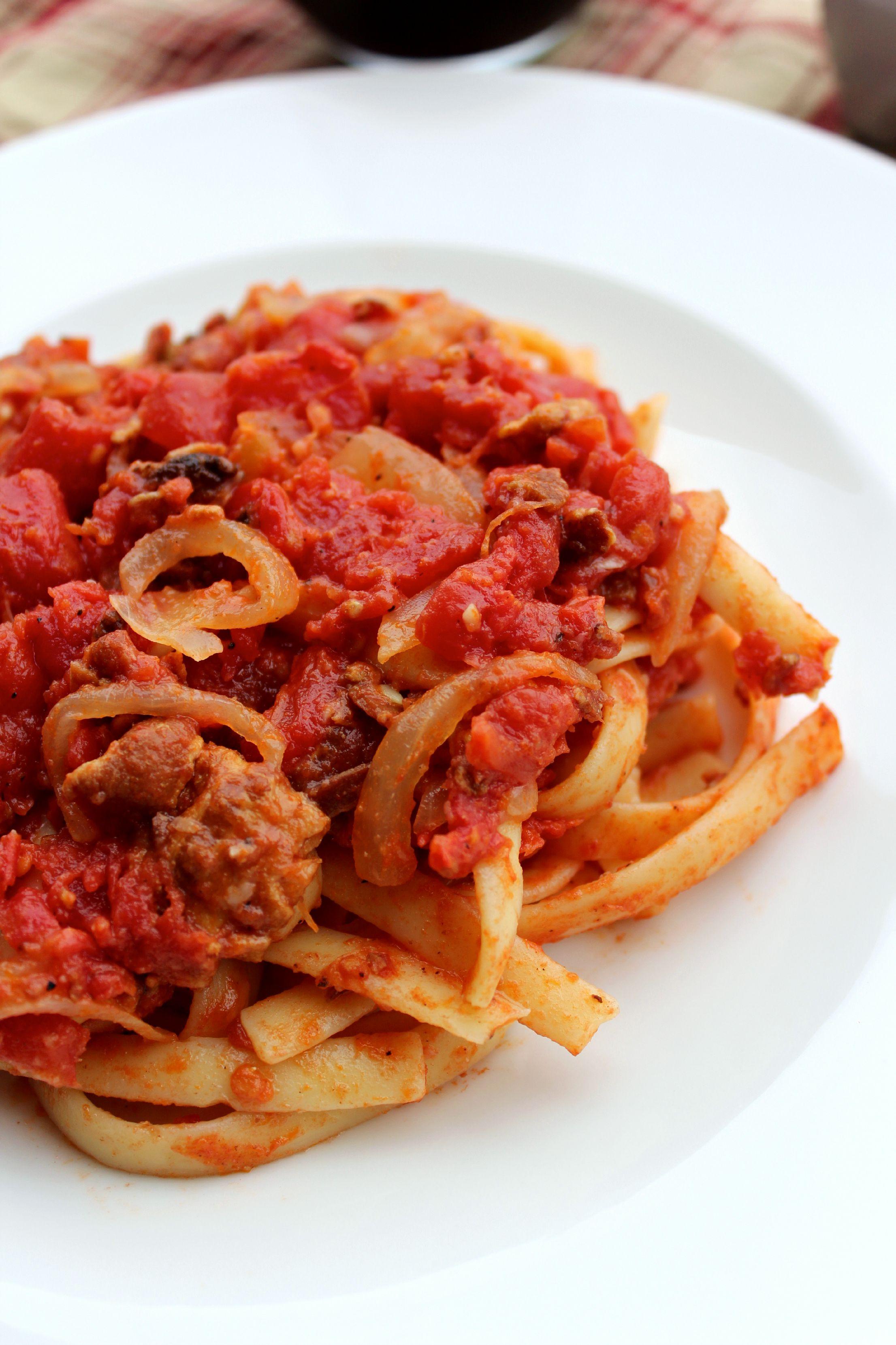Spaghetti All'amatriciana — Rezepte Suchen
