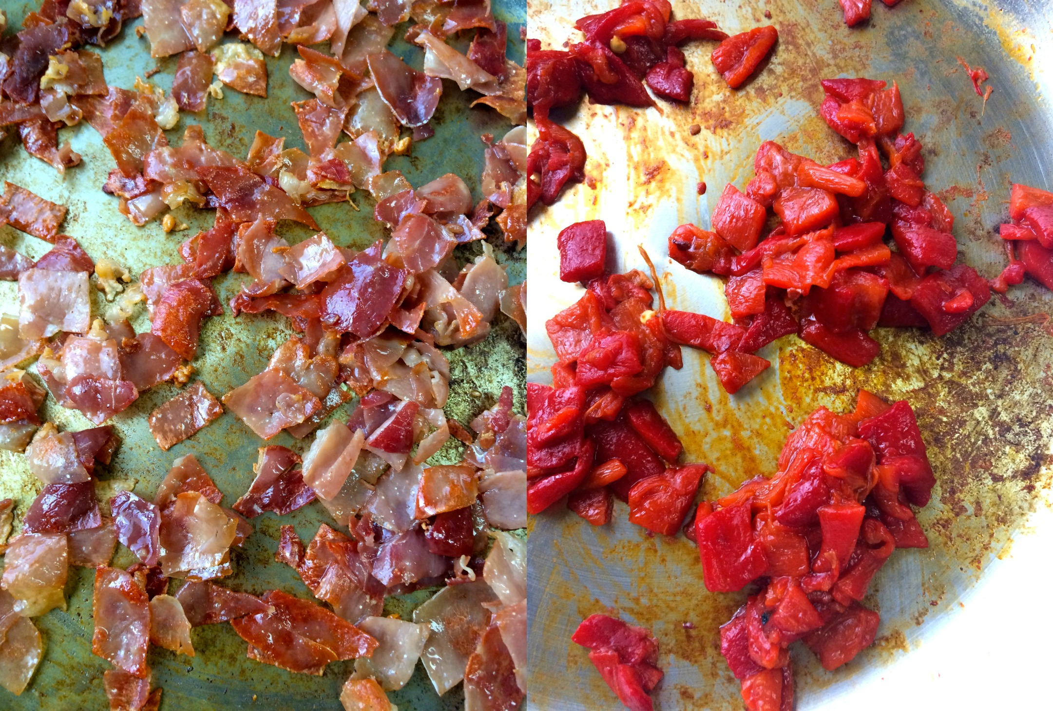 how to cook roasted peppers