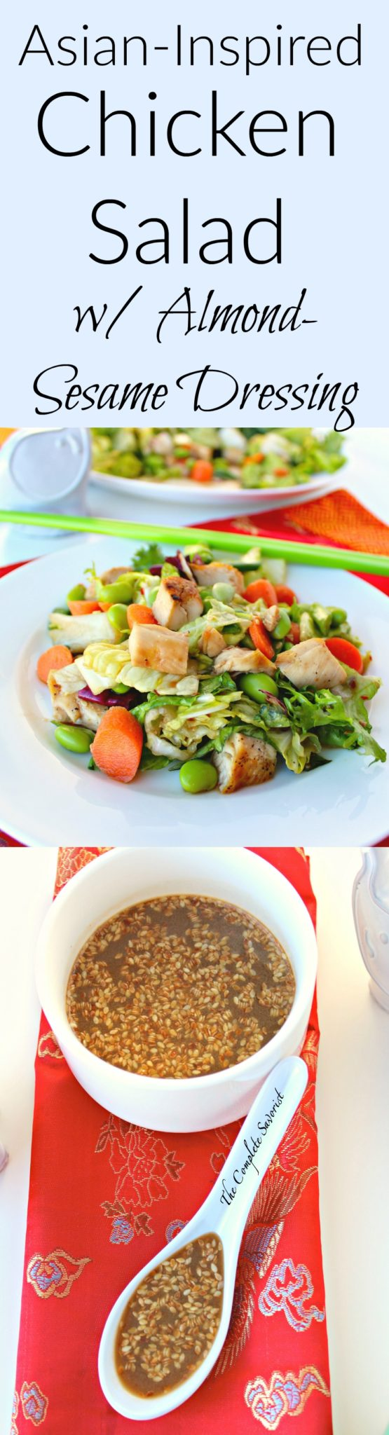 chicken and vegetable salad with chinese sesame sauce recipes chicken ...