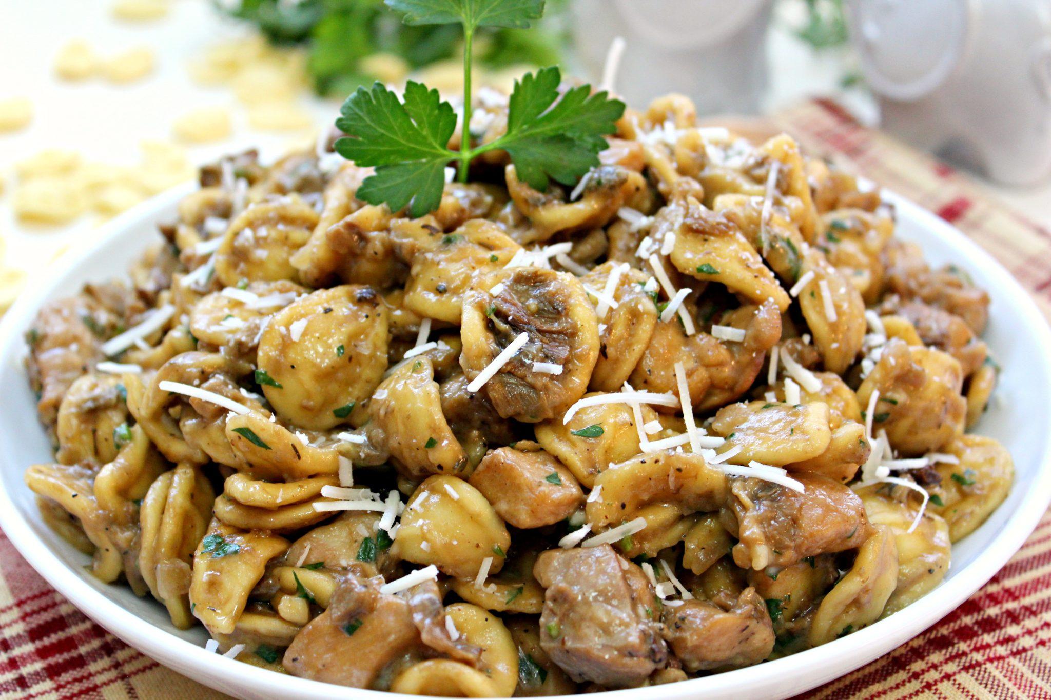 how to cook orecchiette pasta