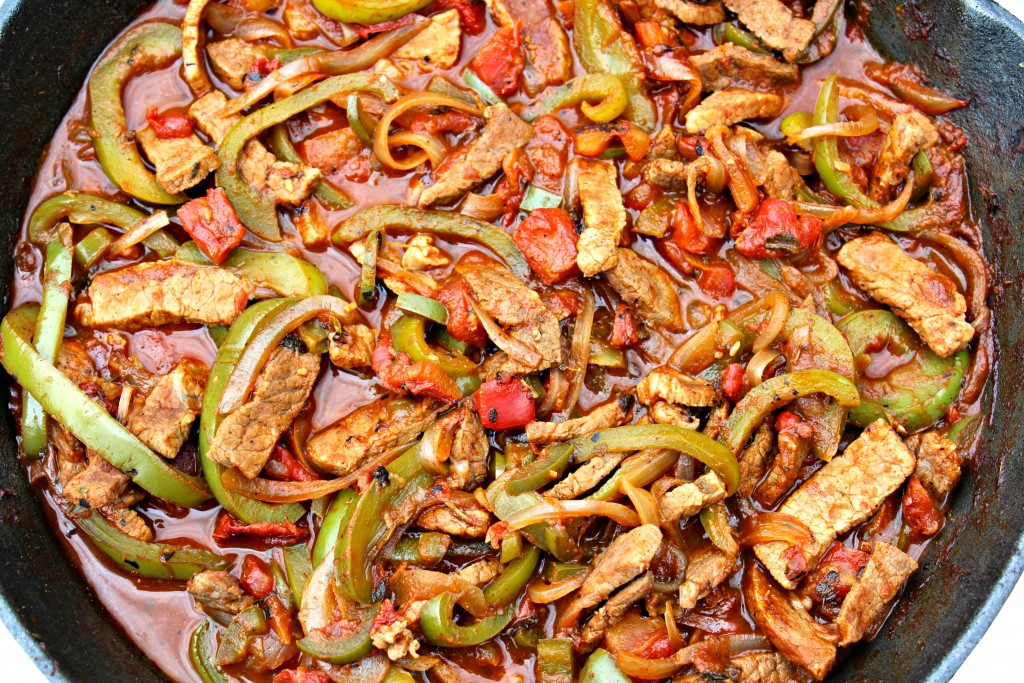 Steak picado and guide to peppers thin strips of seasoned steak stir