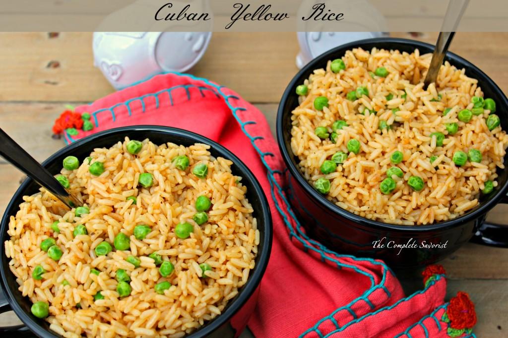 Cuban Yellow Rice The Complete Savorist