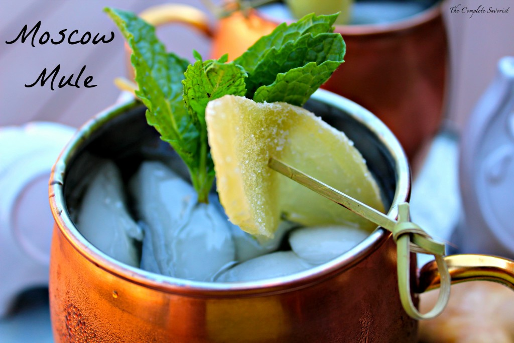 love the traditional Moscow mule, but this mint version is amazing ...