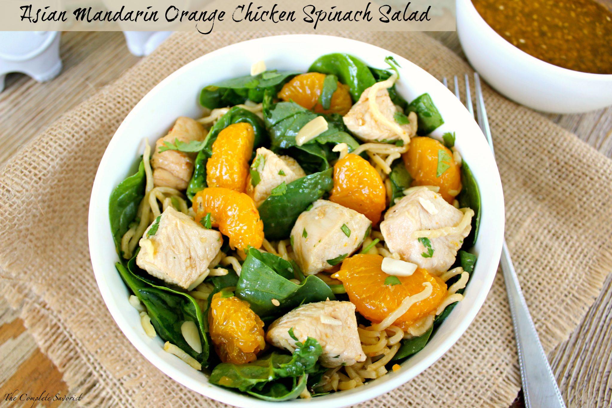 Woooo asian mandarin orange salad recipes