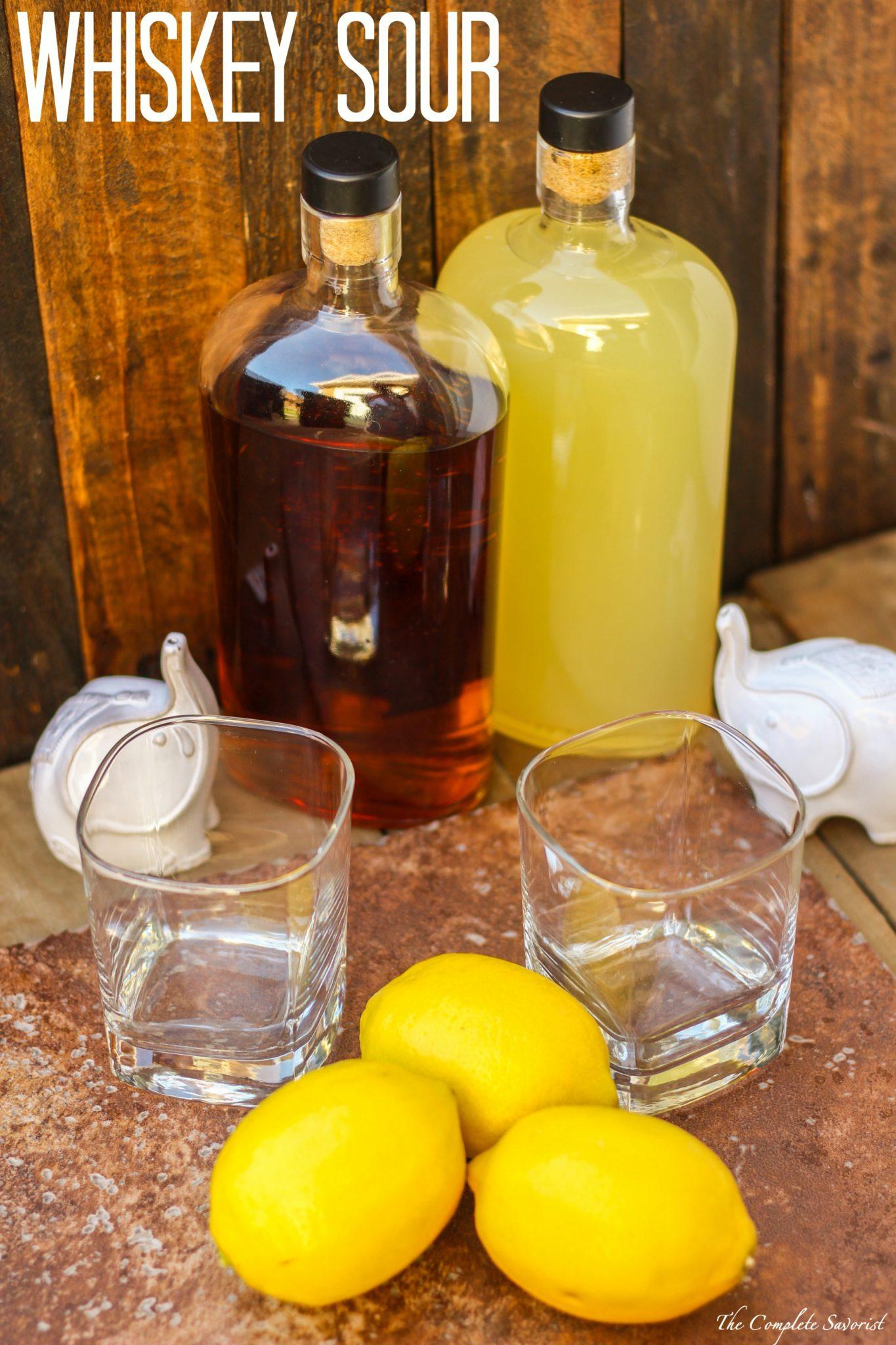 Classic Whiskey Sour Recipe — Dishmaps