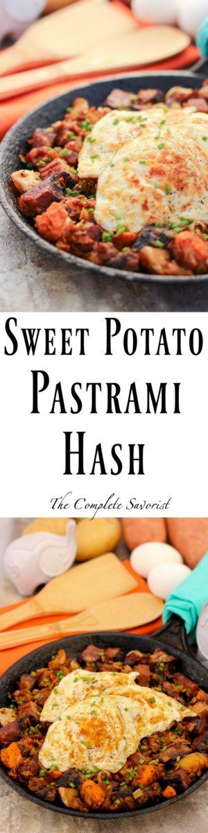 Sweet Potato Pastrami Hash ~ Classic hash updated with pastrami, sweet ...