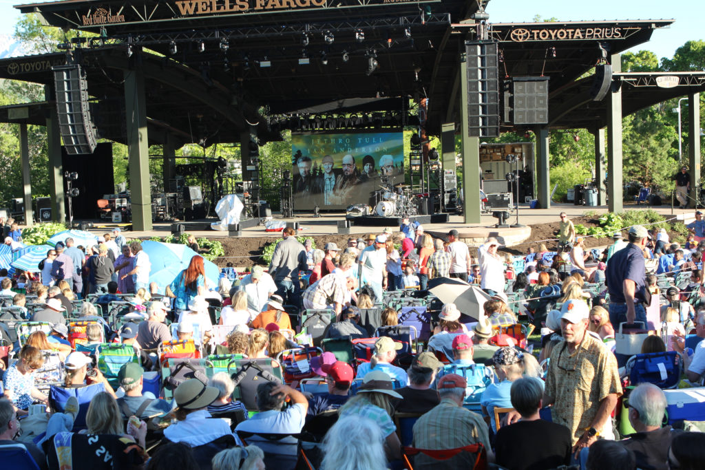 Jethro Tull and Cuisine Unlimited ~ A late spring evening at an outdoor amphitheater with some delicious food, live music, and good friends ~ The Complete Savorist
