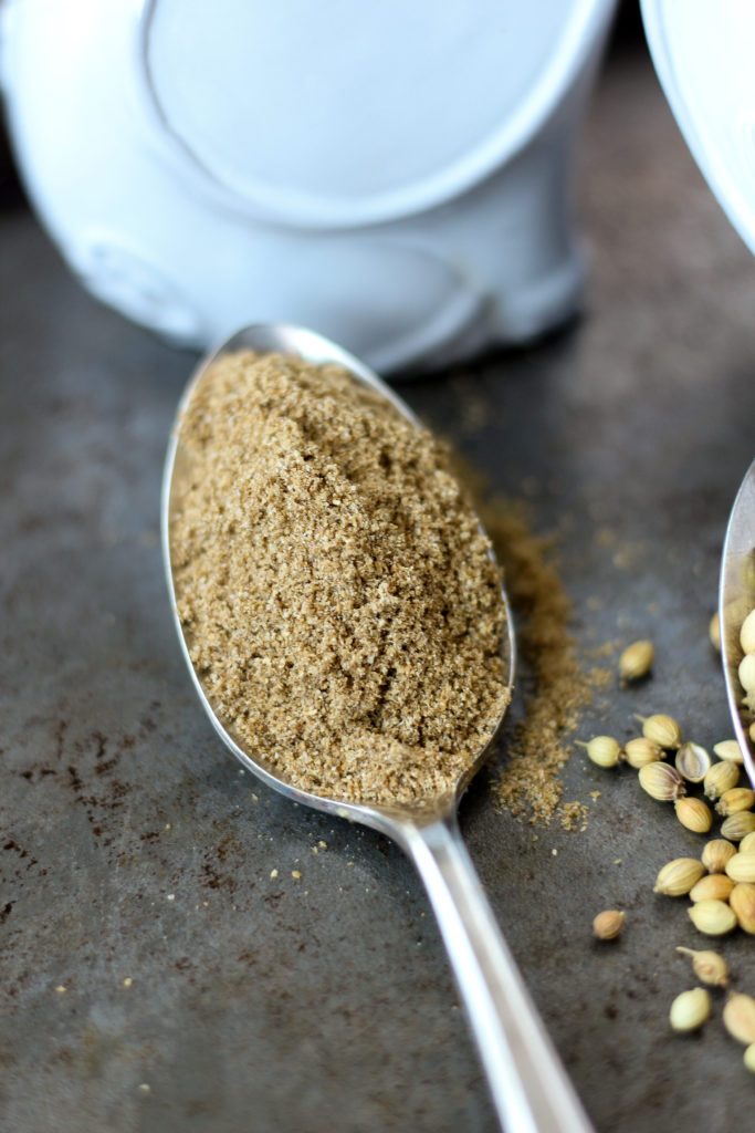 The Spice Rack: Coriander ~ The culinary and historically diverse spice, both whole and ground, has many uses in the modern global kitchen ~ The Complete Savorist by Michelle De La Cerda