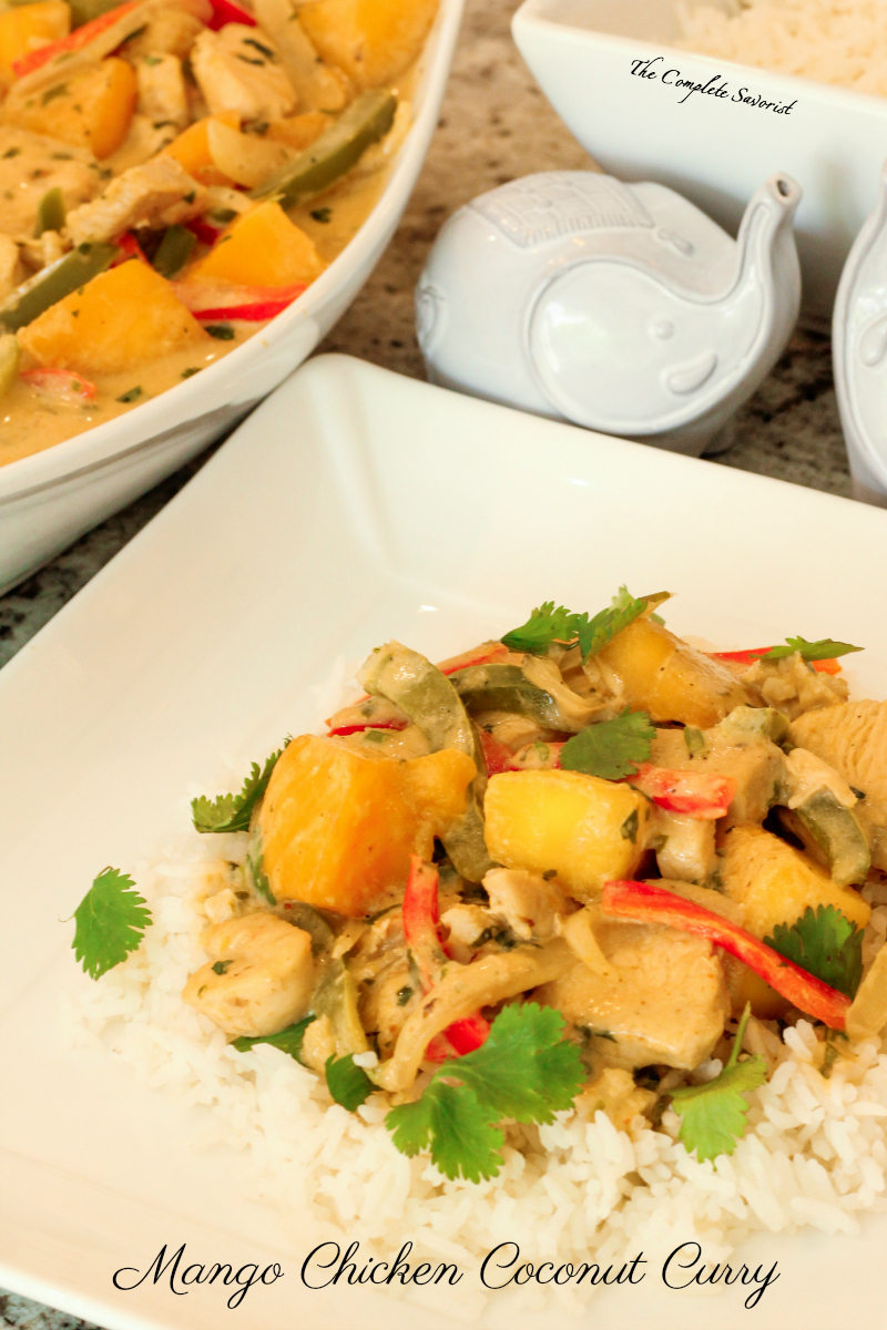 Mango Chicken Coconut Curry - The Complete Savorist