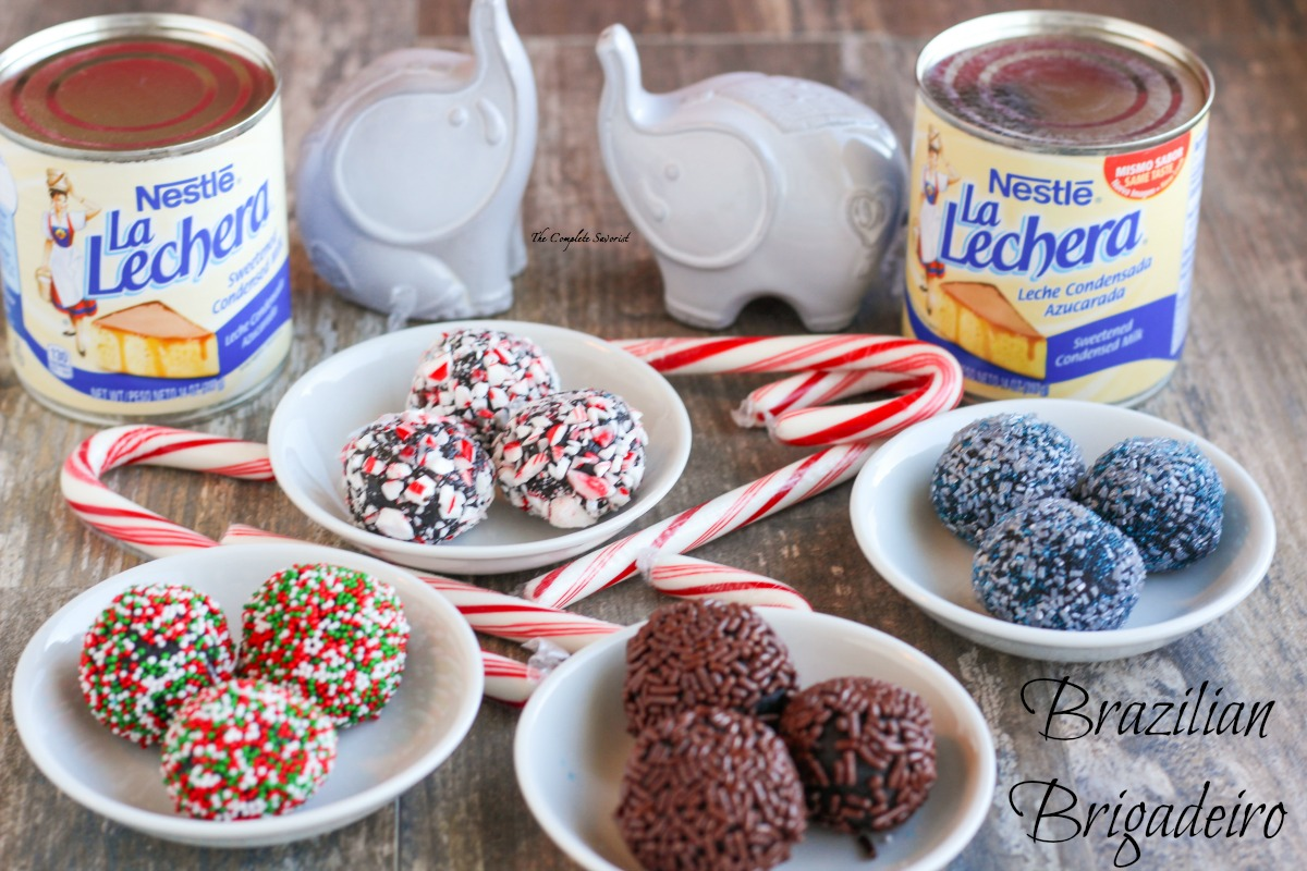 Brazilian Brigadeiro ~ A heavenly hybrid confection of fudge and truffles with a consistency similar to caramel that everyone will love ~ The Complete Savorist by Michelle De La Cerda